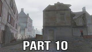 Call of Duty 2 Spanish Civil War Gameplay Part 10 - Guernica & Bunker Defense