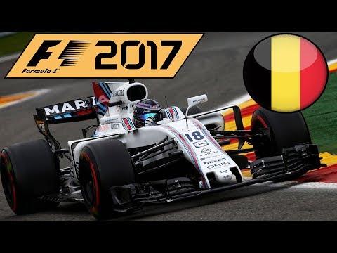 F1 2017 Career Mode Part 12 - BELGIAN GRAND PRIX!