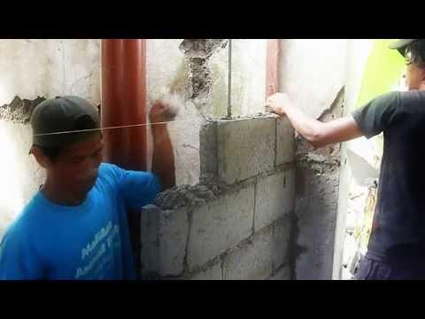 Concrete Hollow Blocks Wall 9 11 12 Youtube
