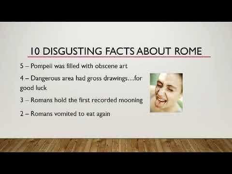 Filthy Romans