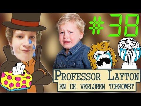 ECHTE MANNEN HUILEN GEWOON! - Professor Layton En De Verloren Toekomst #38 (FINALE)