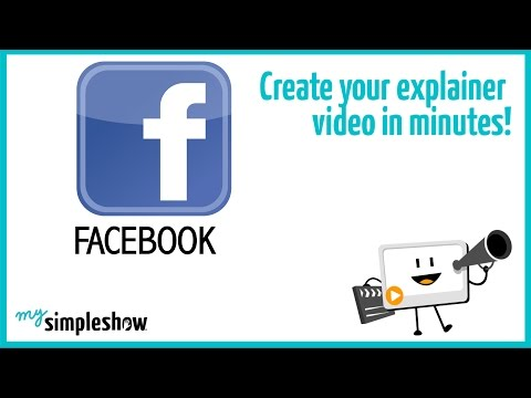 Find out about Facebook in this short explainer video. Create your own video with mysimpleshow.com