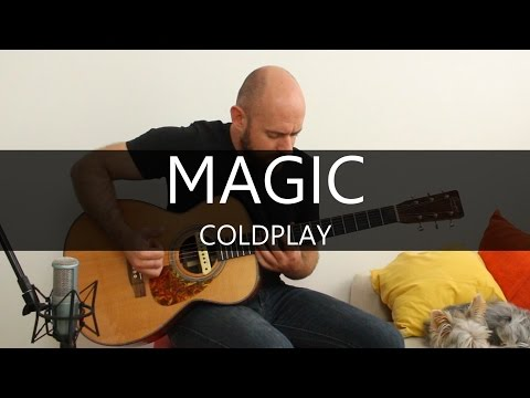 Magic (Coldplay) - Acoustic Guitar Solo Cover (Fingerstyle)