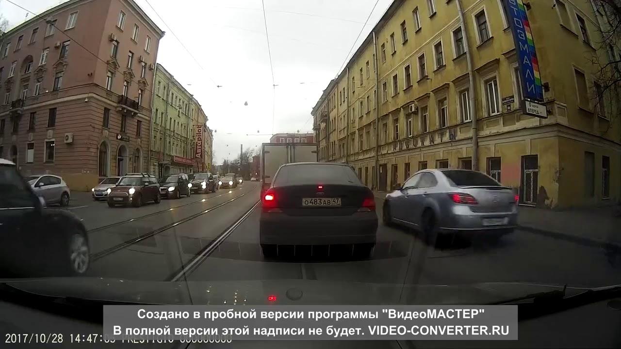 ДТП на проспекте Обуховской обороны