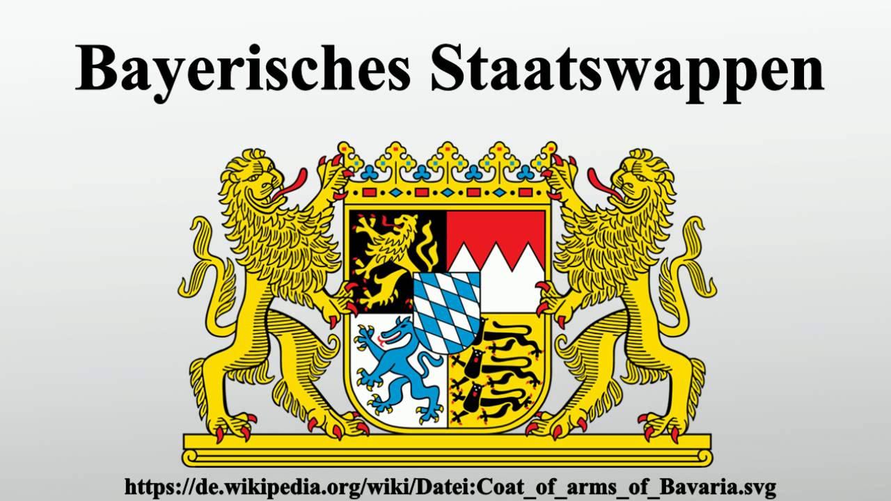 Bayerisches Staatswappen - YouTube