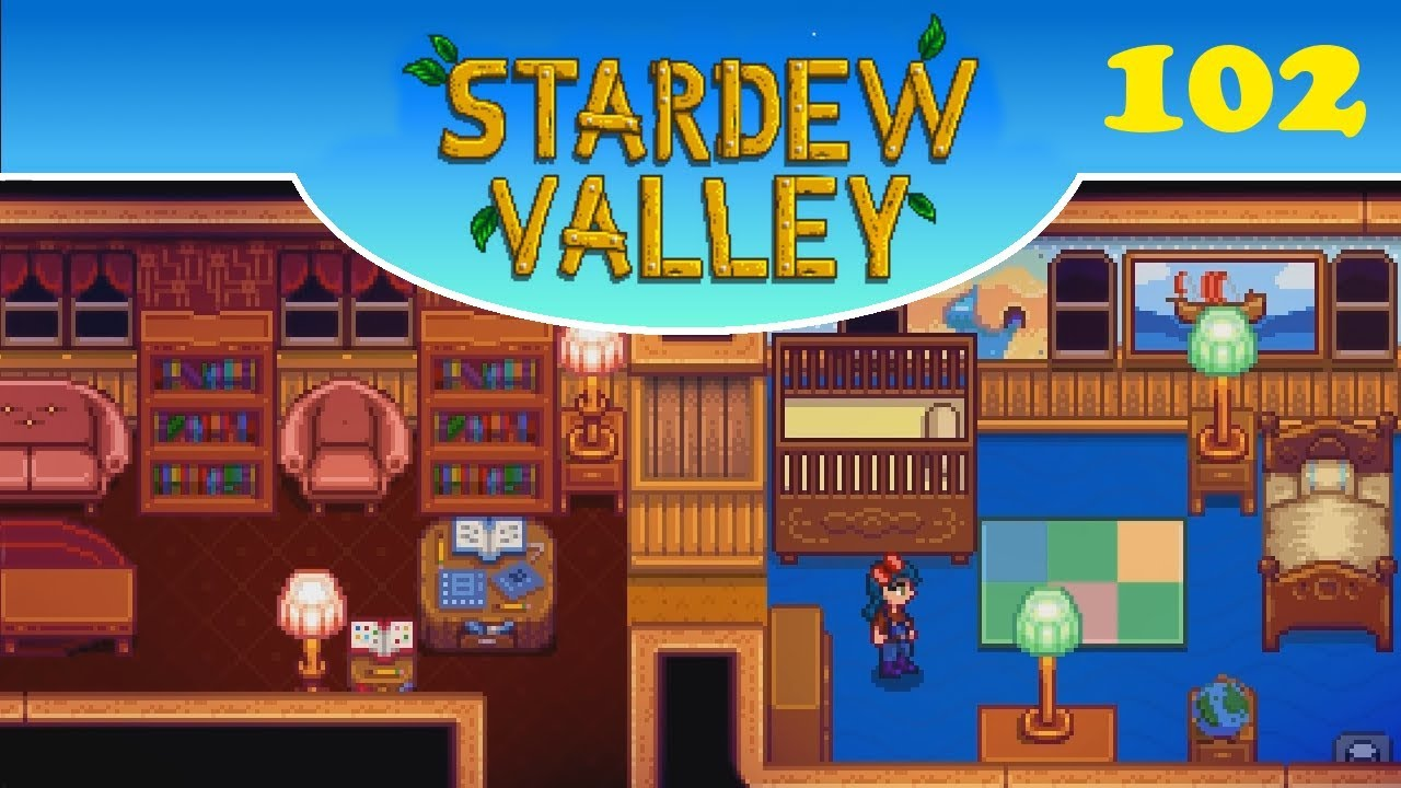 Stardew Valley :: Ep.102 - Interior decorating! - YouTube