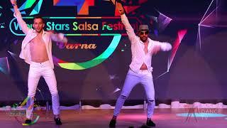 Valentin Shikov & Fadi Fusion (Bulgaria) – Salsa Show | 4th World Stars Salsa Festival