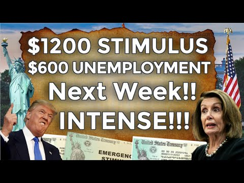 NEXT WEEK!! SECOND Stimulus Check UPDATE $600 Unemployment Benefits Extension LWA SSI PUA OCTOBER 16