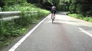 福岡の白木峠 下り