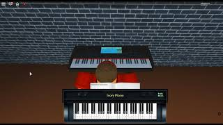 Because of You - Breakaway by: Kelly Clarkson on a ROBLOX piano.