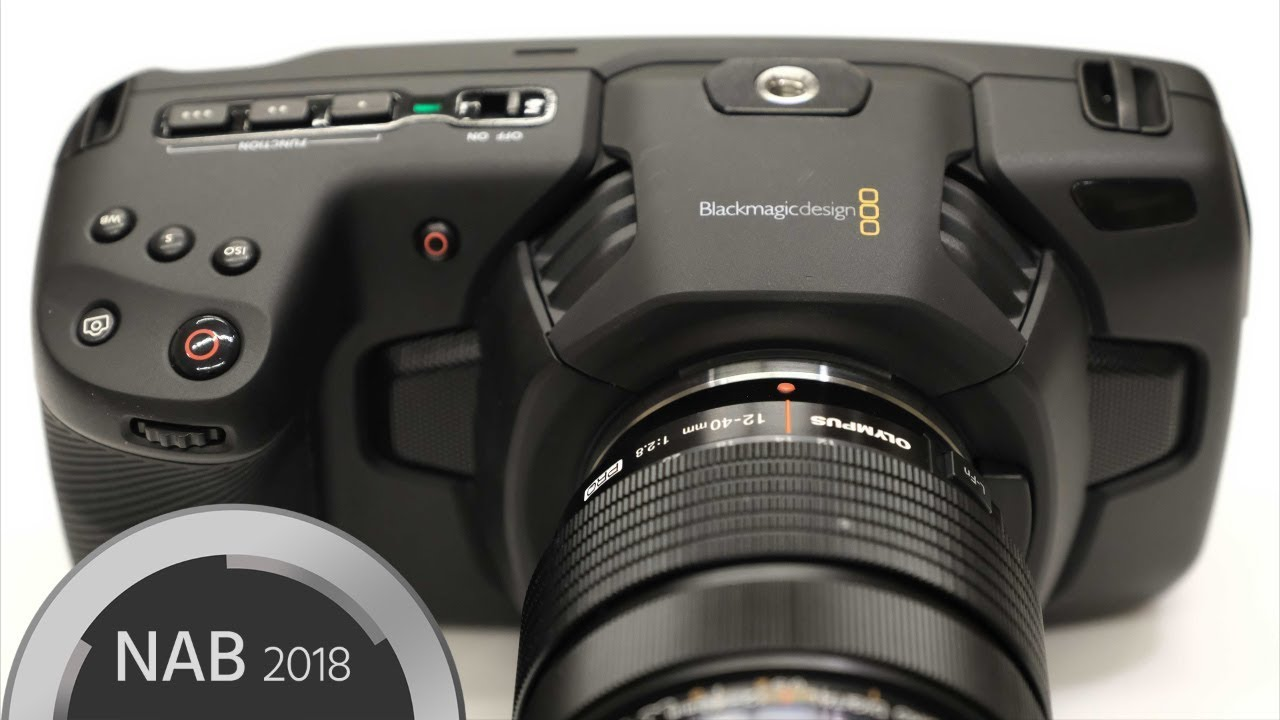 Blackmagic Pocket Cinema Camera 4K Hands on with CEO Grant Petty