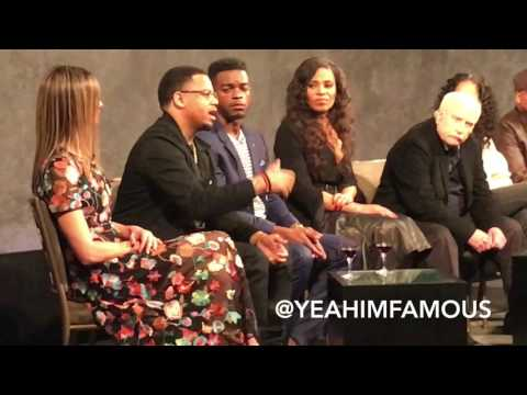 Mack Wilds Sanaa Lathan Stephan James Richard Dreyfuss Shots Fired NYC Premiere