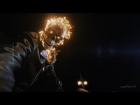 Призрачный Гонщик спасает Робби Рейса | Агенты Щ.И.Т. (4 сезон 6 серия)