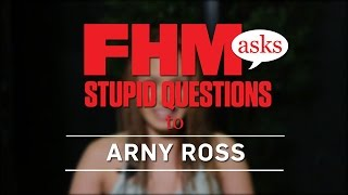 FHM Asks Stupid Questions To Arny Ross