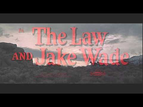 1958 - The Law and Jake Wade - Generic Film