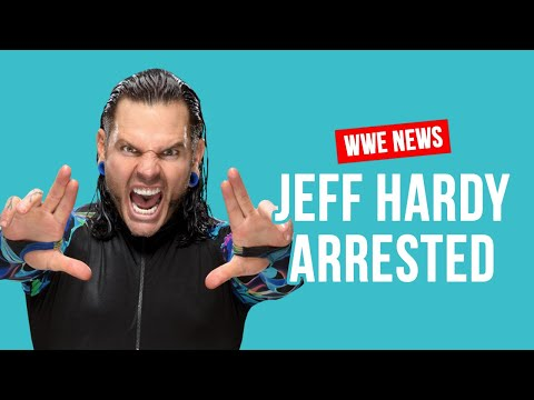 Jeff Hardy Arrested For DUI