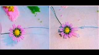 Бисероплетение как сделать вазу с цветами