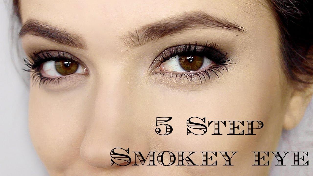 day smokey eye | 5 steps | makeup tutorial