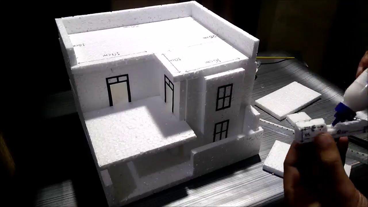 thermocol building making - cinemapichollu