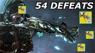 MALFEASANCE IS HOT! 54 DEFEATS - PvP | Destiny 2