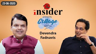 LoP Shri Devendra Fadnavis interview with Raju Parulekar on The Insider