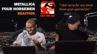 Metallica - The Four Horsemen (REACTION!)