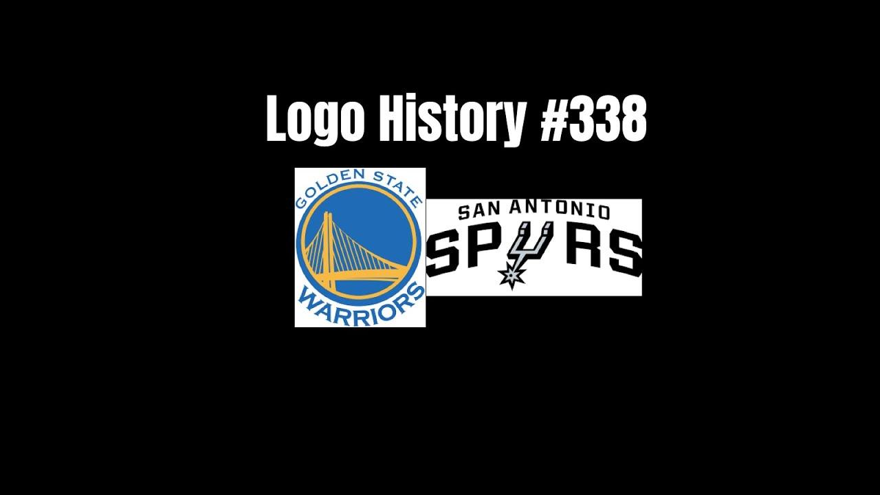 Logo History 338 Golden State Warriors San Antonio Spurs Youtube