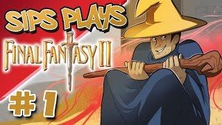 Detroit Red Wings - Sips Plays Final Fantasy II (US/SNES) - Part 1