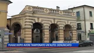 TG (25/09/2018) - FUGGE DOPO AVERE TAMPONATO UN'AUTO: DENUNCIATO