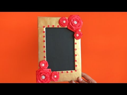 DIY | How to make Photo Frame at home | Cardboard Photo Frame | Best out of waste