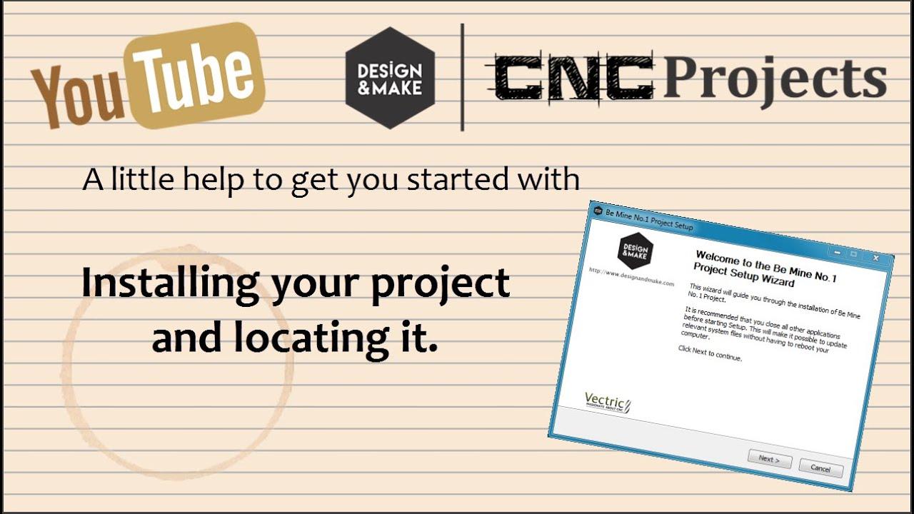 Design & Make - CNC Clipart Models