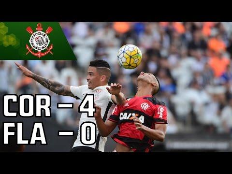 Brasileirão 13ª Rodada: Corinthians 4 X 0 Flamengo - Mesa Redonda (03/07/16)