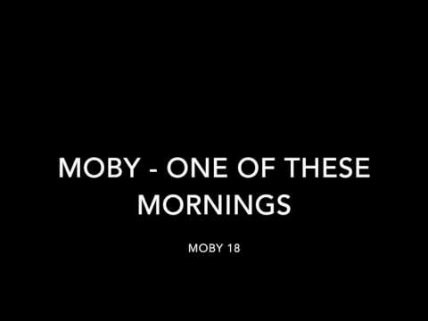 Moby - One of these mornings (lyrics)