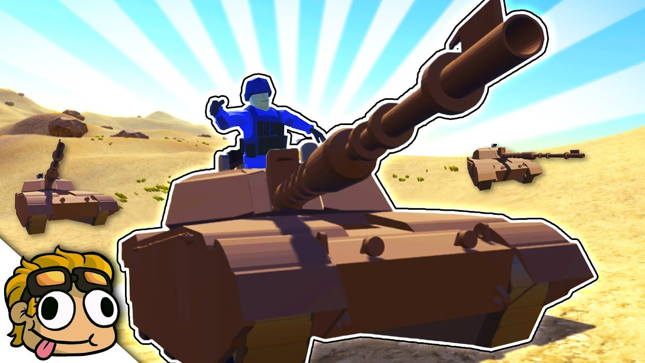 M1 ABRAMS MODERN TANK MOD! | Ravenfield Custom Mod and Vehicle Gameplay