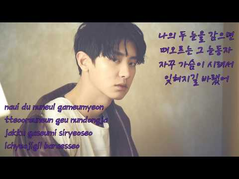Duet with Chanyeol (Karaoke) - Stay with Me (Goblin OST) Instrumental + Lyrics