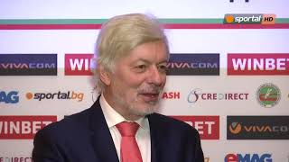 Валентин Михов: Имам фаворит, но нека да не го казвам
