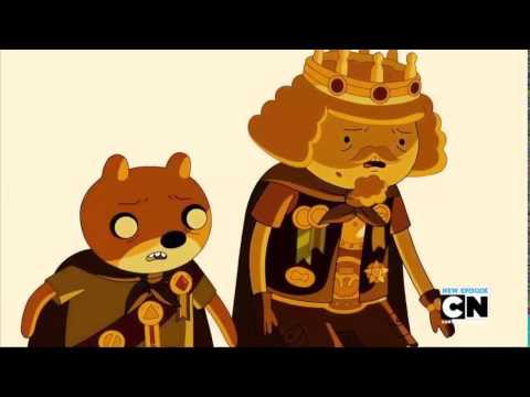 AdventureTime- The Lich Returns Speech Gold Star (Flick)