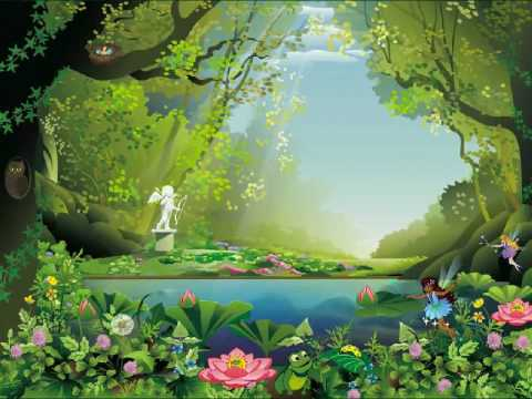 Fairy Forest Screensaver Youtube