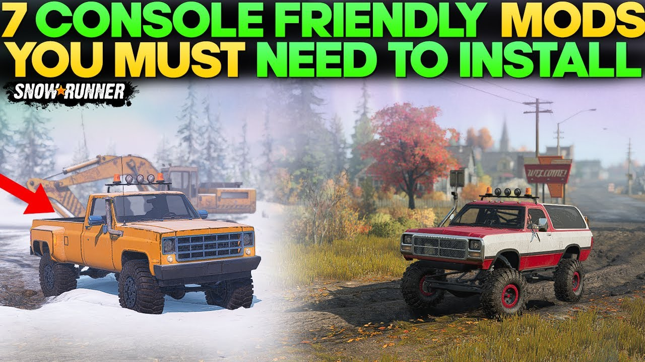 Top 7 Console Friendly Mods in SnowRunner You Need to Install