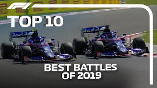 Top 10 On Track Battles Of 2019