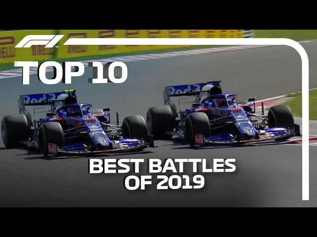Top 10 On-Track Battles Of 2019