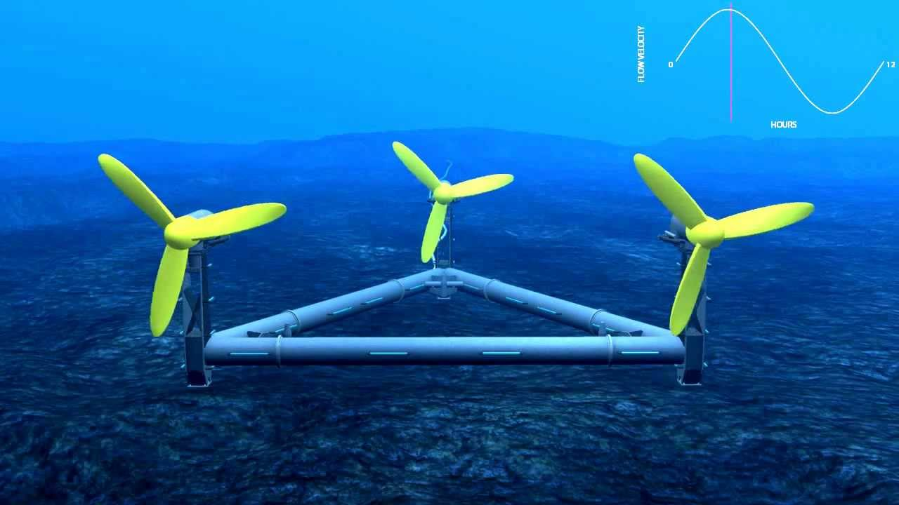 Capturing Tidal Power: How DeltaStream Works - YouTube