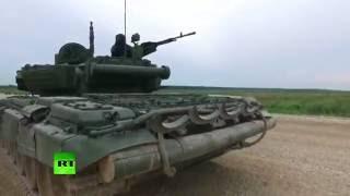 Боевая техника в действии: новейший танк Т-14 «Армата»(Министерство обороны РФ в своем аккаунте на YouTube опубликовало видео из новейшей истории танковых войск,..., 2016-09-11T17:10:11.000Z)