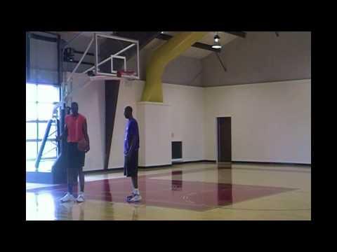 Hakeem Olajuwon & Kobe Bryant - Baseline Spin Move