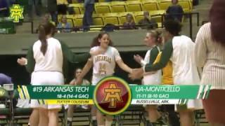 Tech Women's Basketball vs. Arkansas-Monticello Highlights - 2/16/17
