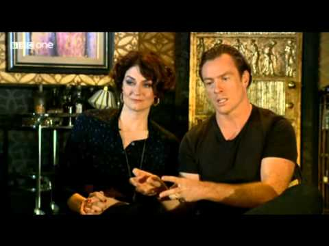 Toby Stephens and Anna Chancellor on the Andrew Marr   14072013