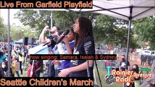 Seattle Children's March & Rally - Complete broadcast on Rainier Avenue Radio 6-13-20