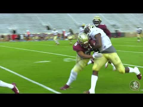 Florida State Football Scrimmage Highlights Credit Fsu Sports Info Youtube