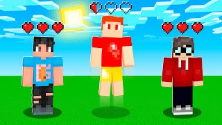 Minecraft If You JUMP = LOSE A HEART!