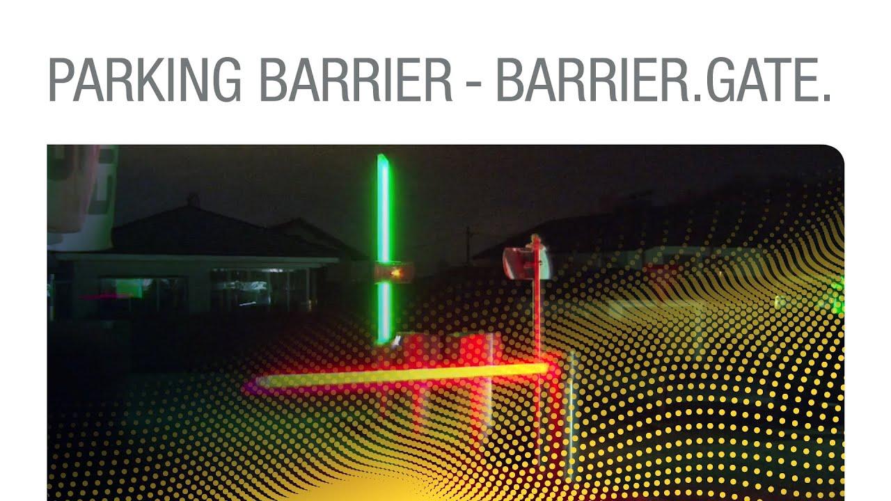 Parking Barrier - Barrier Gate 'Multi Color Boom' - Boom barrier gate